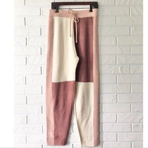 NEW Anthropologie Moon River sweater lounge pants